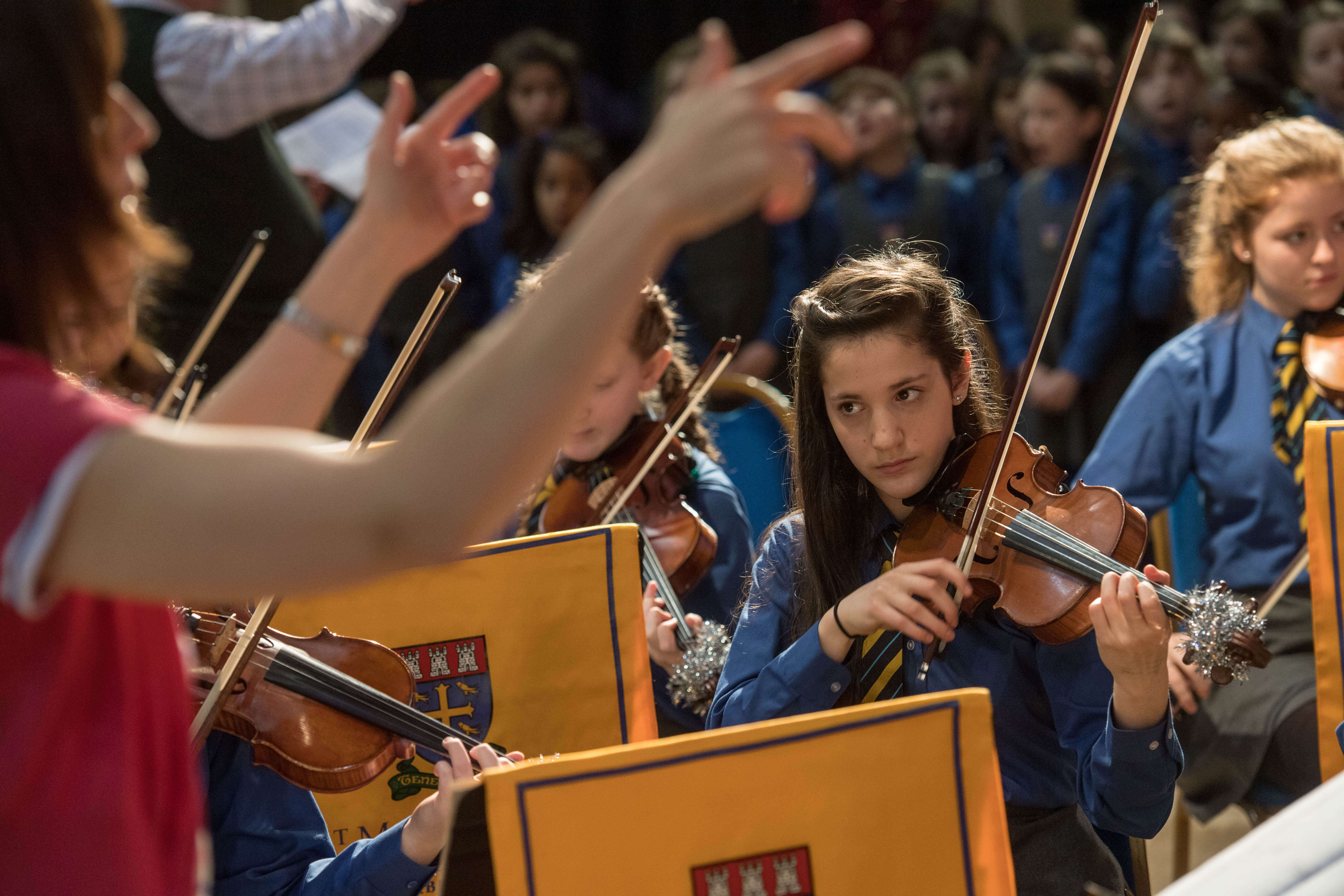 How does St Margaret's teach girls to read music?
