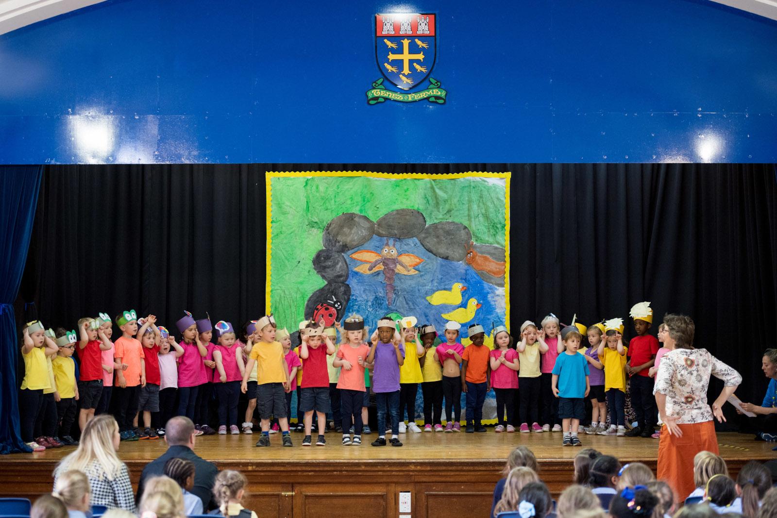 St Margaret's Nursery Pupils Jump into Summer