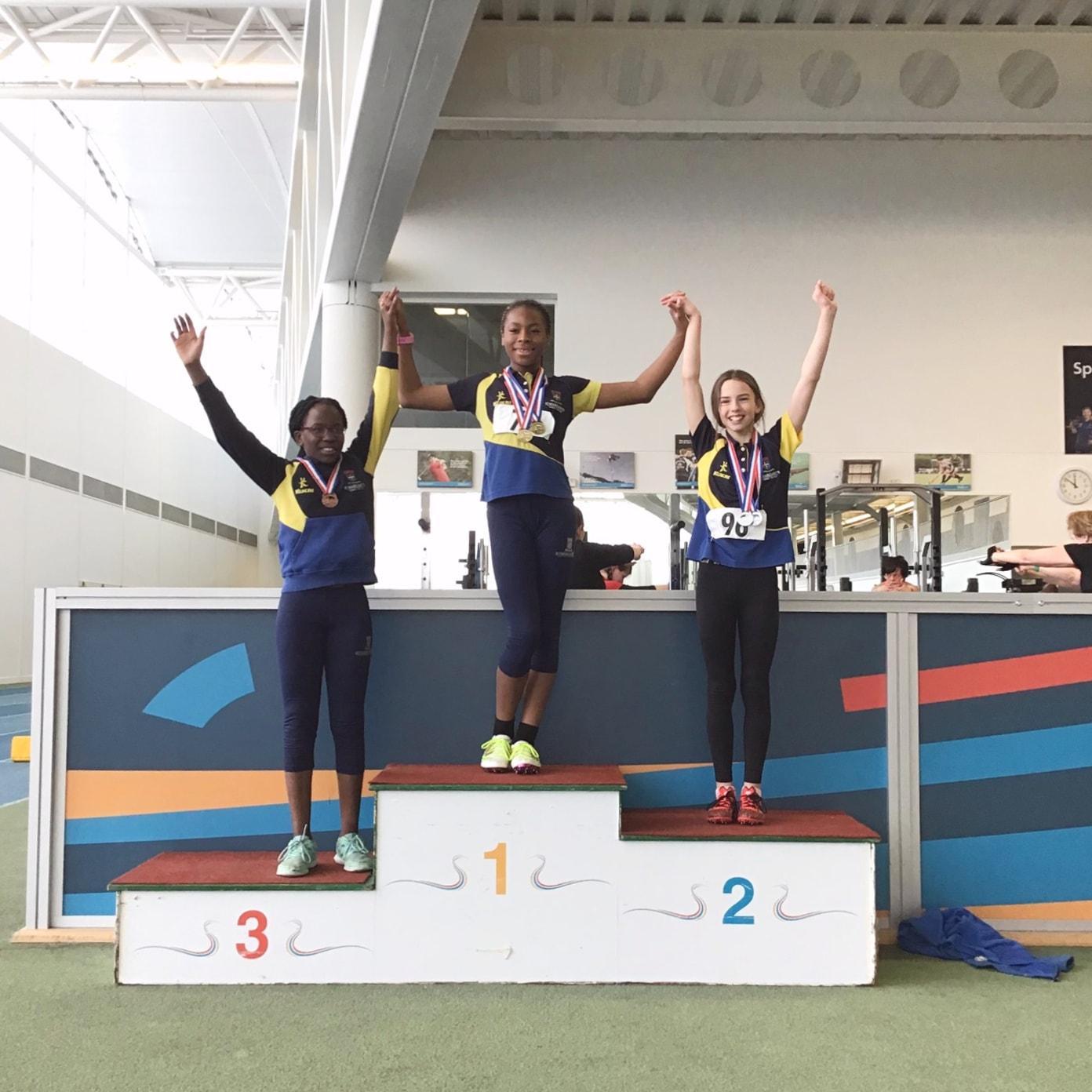 Sporting success for junior athletes