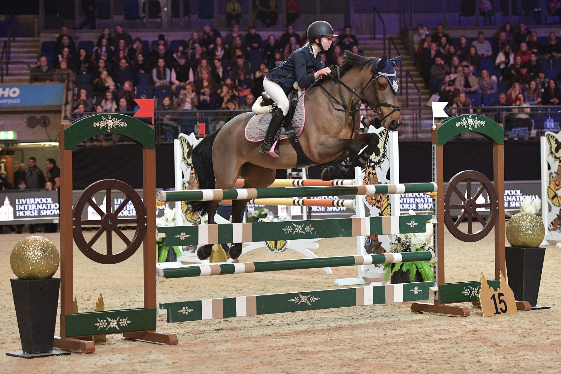 St Margaret's Horse Riding Team Captain Selected to Represent GB
