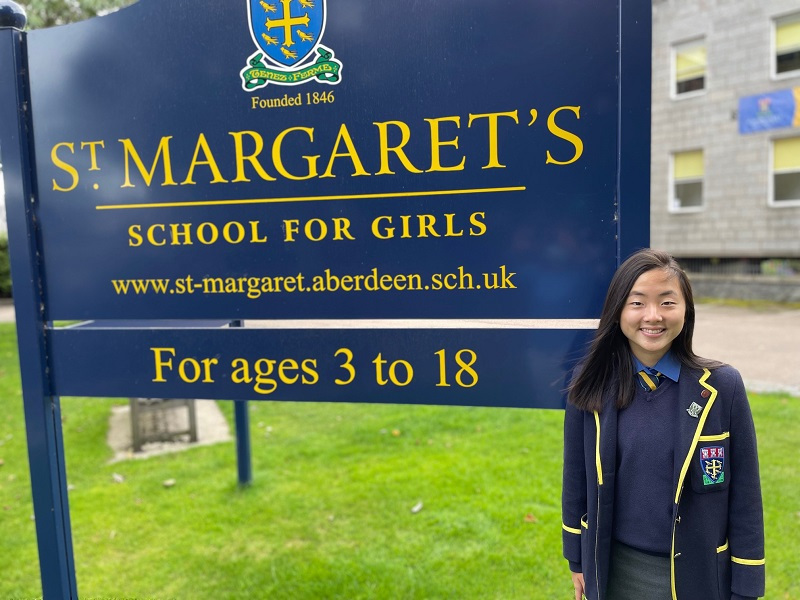 Meet our new Head Girl for session 2021-22