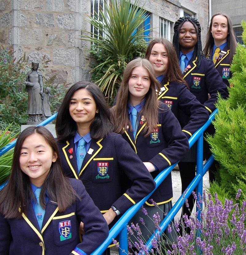 Head Girl Team for session 2021-22