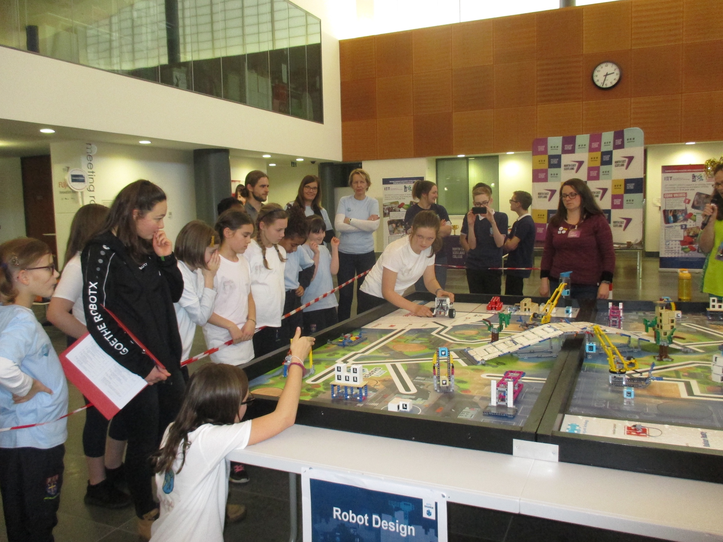 Success for Lego Teams at First Lego League Tournament
