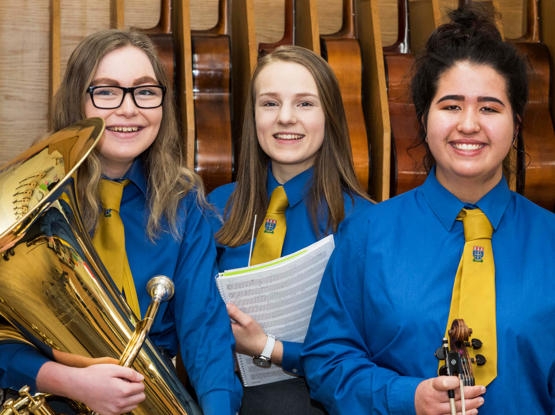 Aberdeen Musical Trio Hit a High Note with University Success