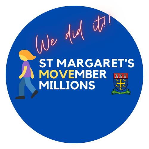 St Margaret's Movember Millions Walking Challenge
