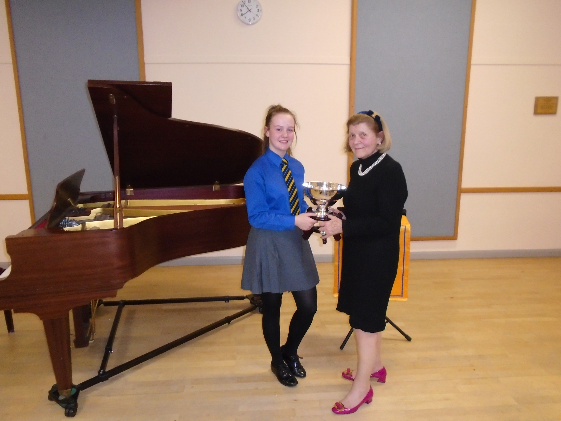 St  Margaret's School for Girls Aberdeen :: Betty Wyness Rosebowl