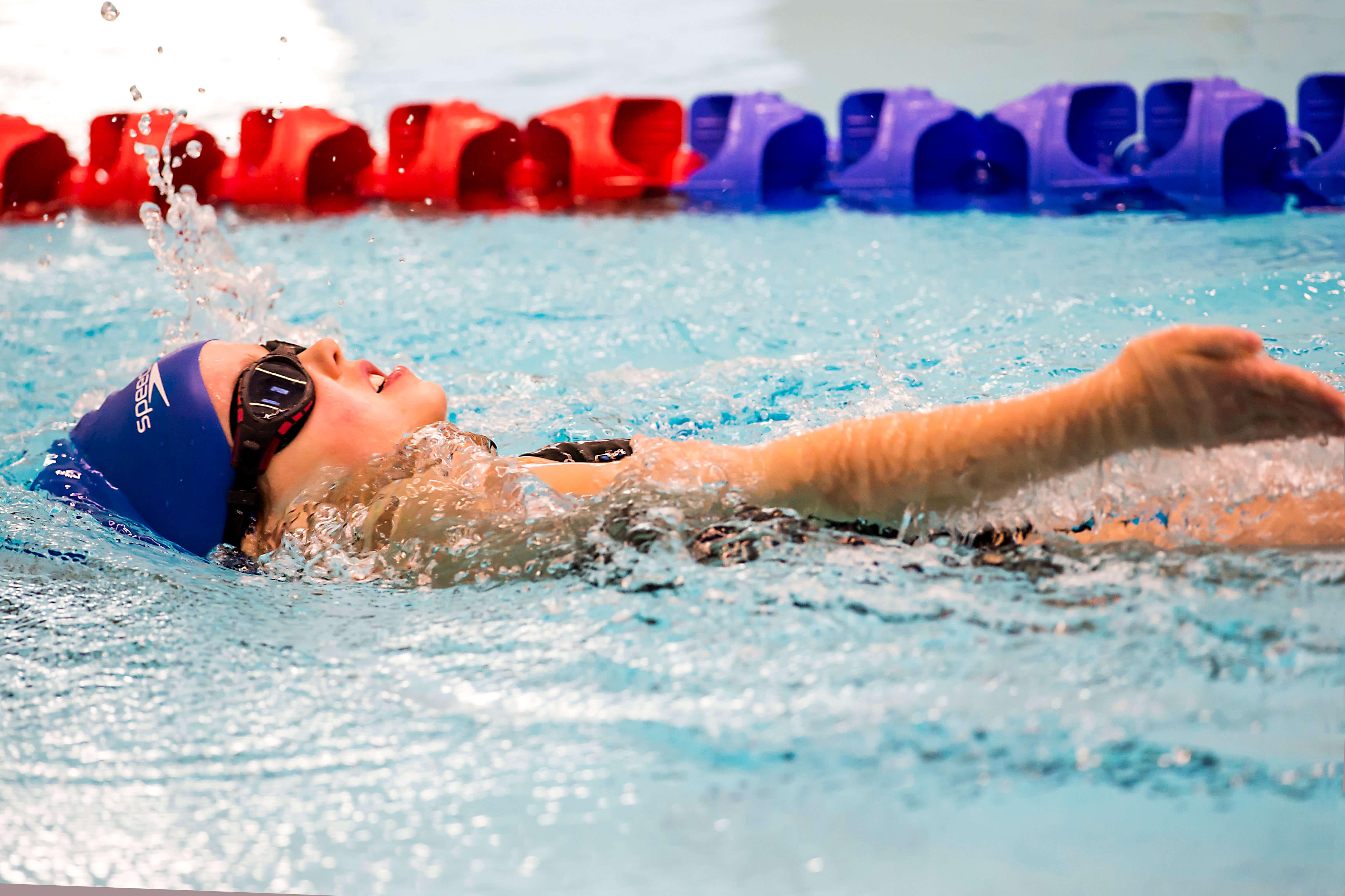 Senior swimming gala