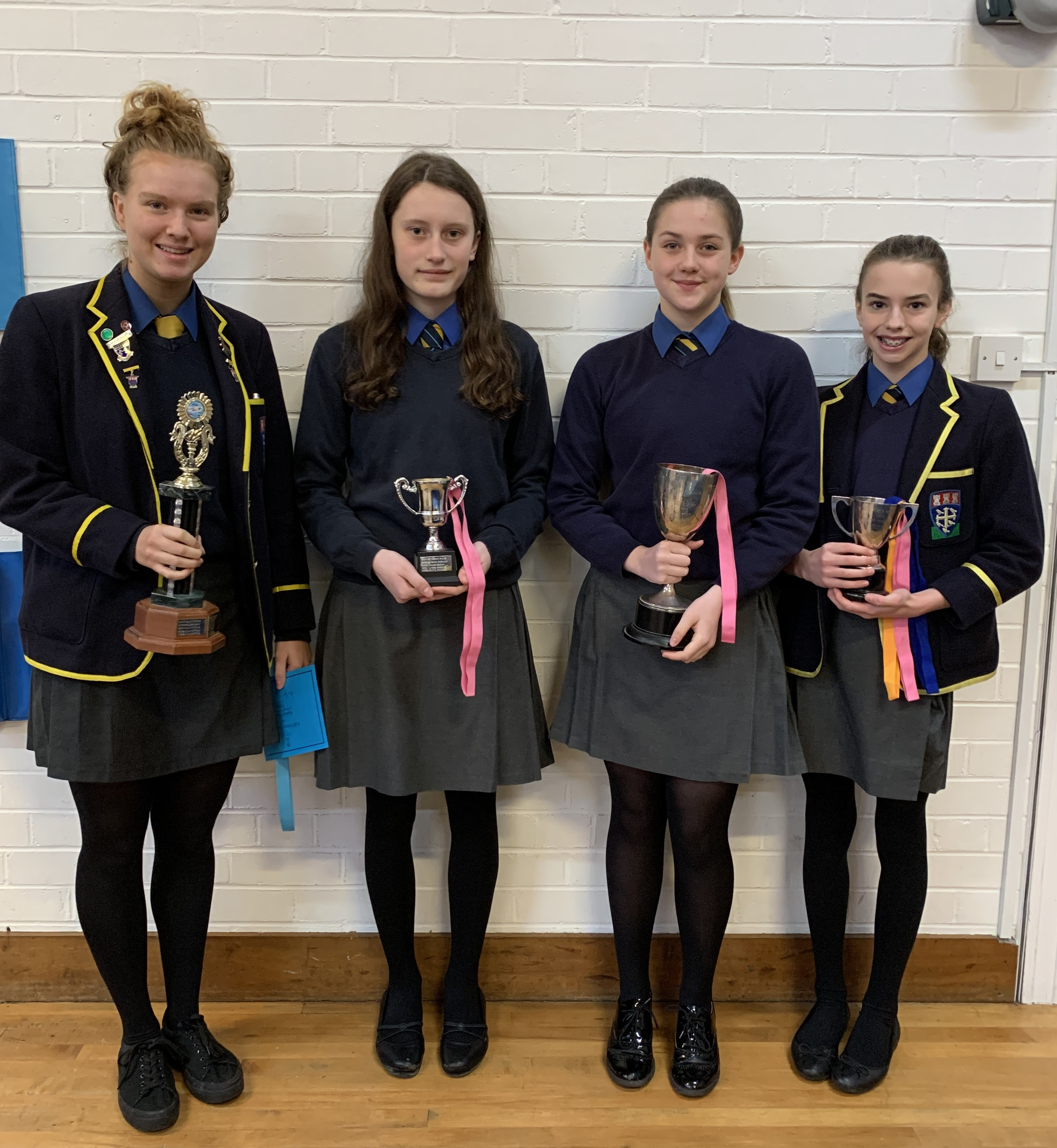 A record-breaking performance at the senior swimming gala