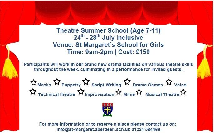 Theatre Summer School at St Margaret's