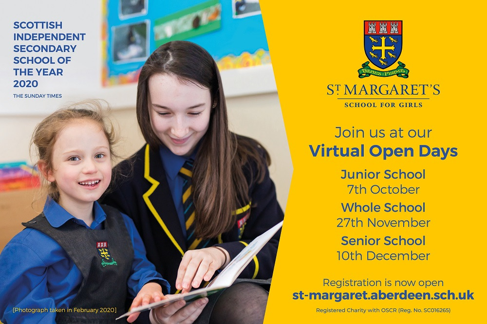 Join us at our future Virtual Open Day Events