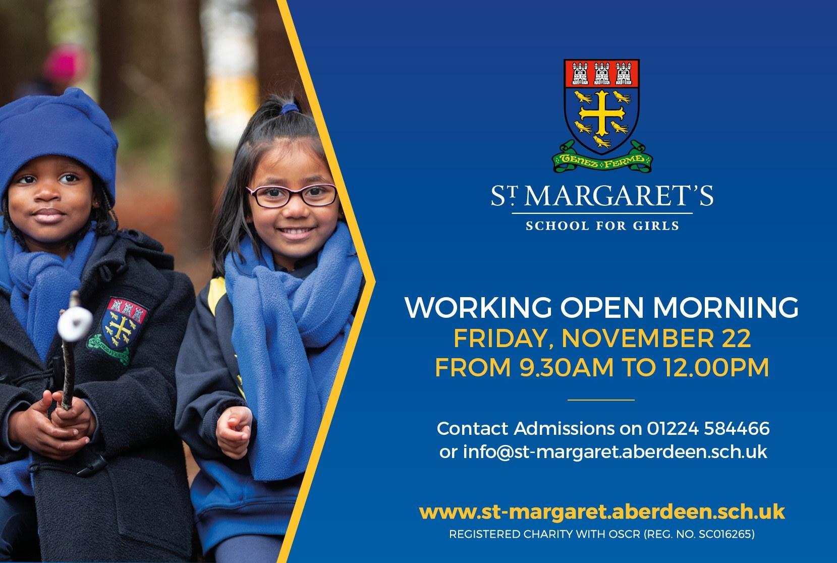 Working Open Morning - November 22