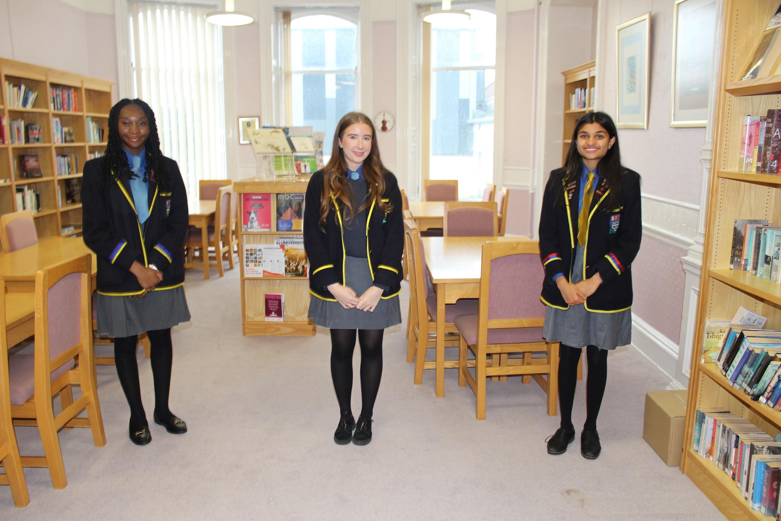 St Margaret's School for Girls celebrating exam success
