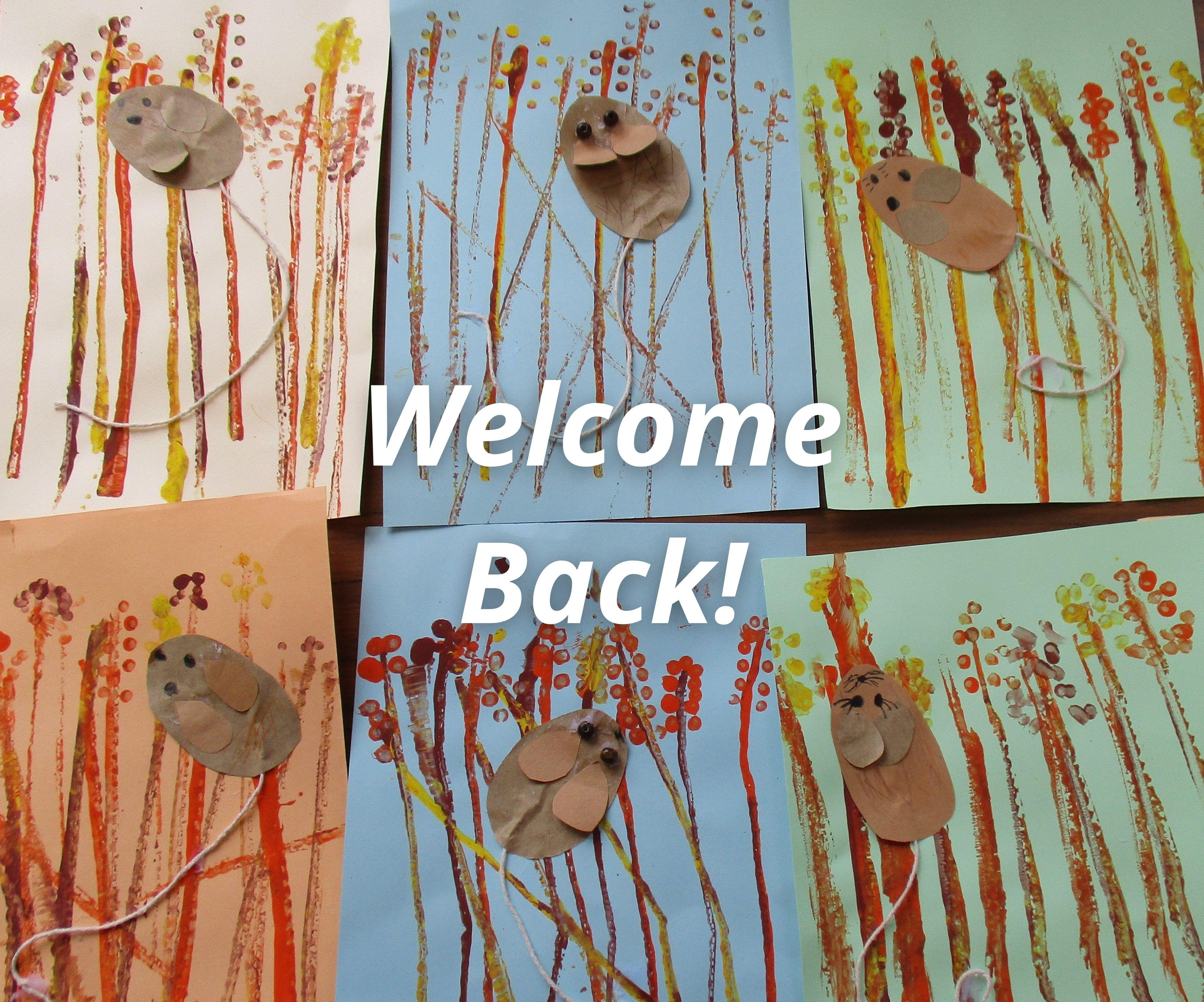Welcome back - Autumn Assembly