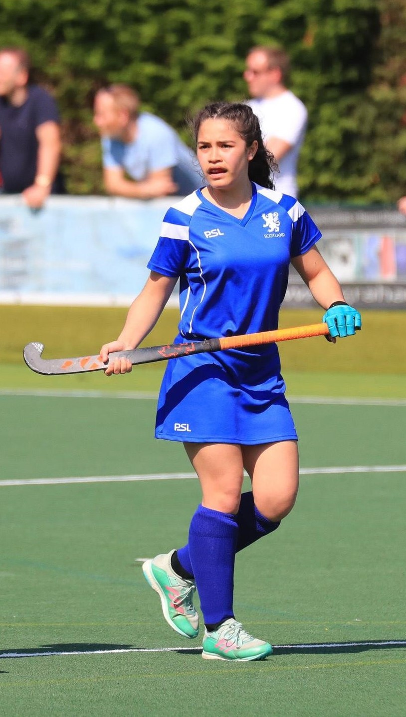 International Debut Success for Hockey Vice-Captain
